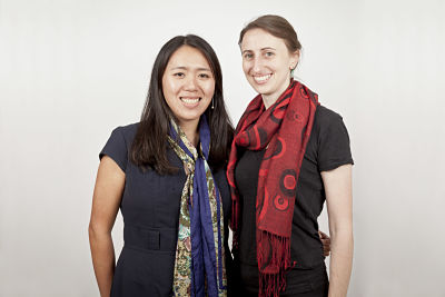 Essmart co-founders, Diana Jue and Jackie Stenson. (Credit: Etienne Jeanneret)